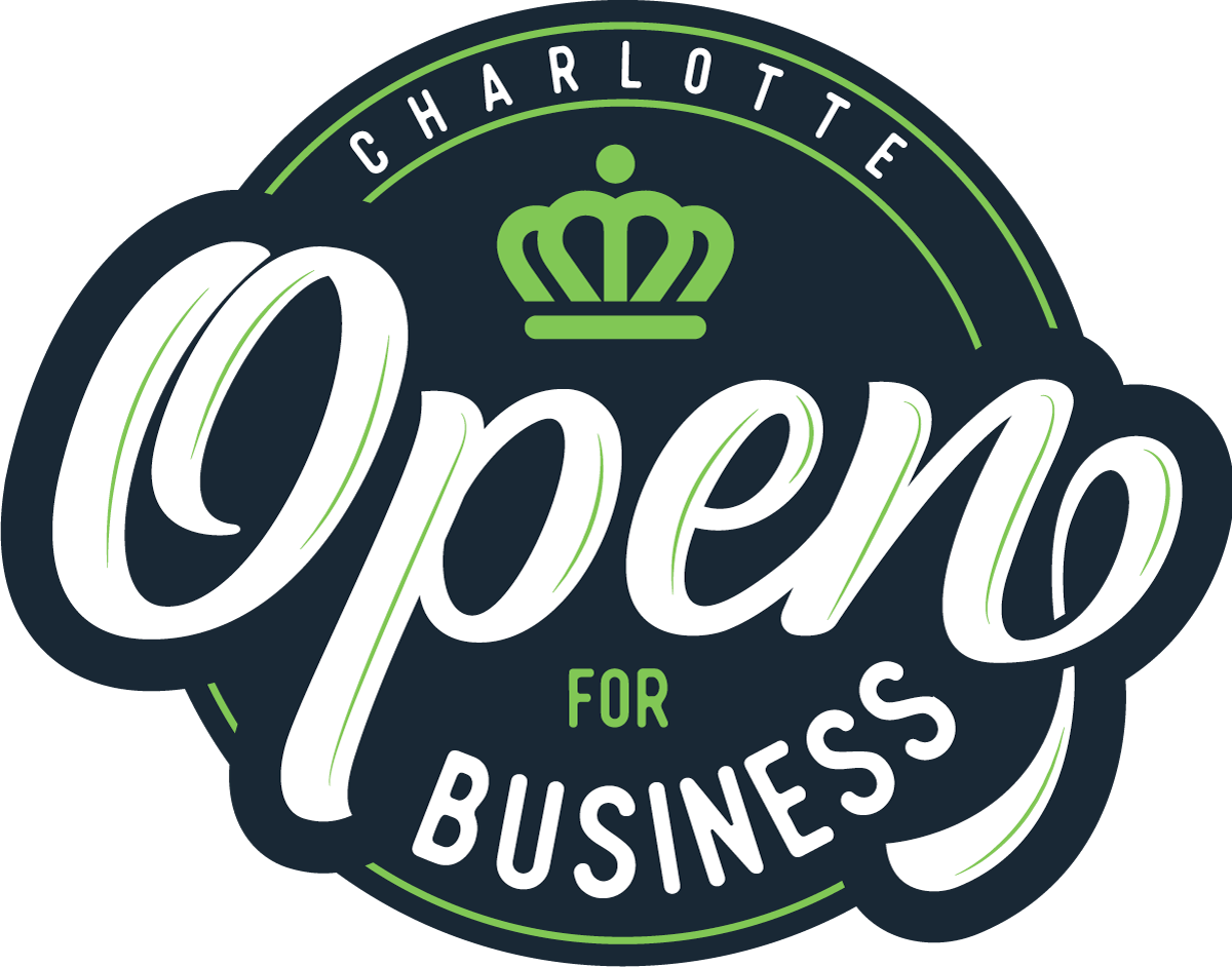 Open for business in Charlotte, NC